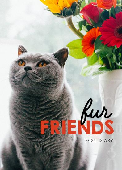 2021 Fur Friends Diary cover