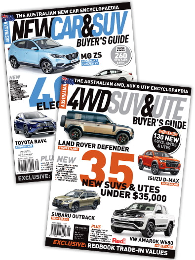 New Car + 4WD Buyers Guide Pack magazine cover