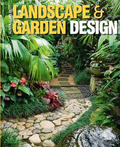 (Australian Best) Ladscape & Garden Design #1 magazine cover