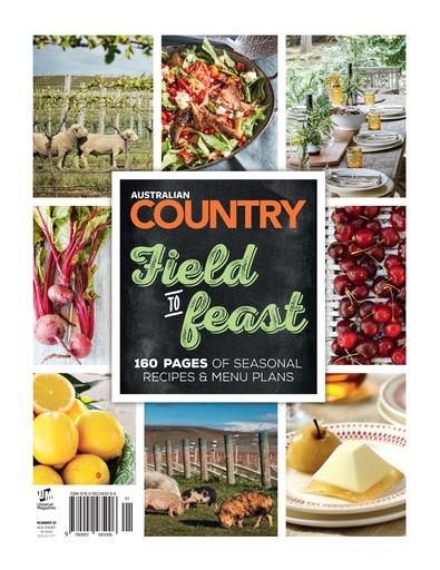 Australian Country Field to Feast #1 magazine cover