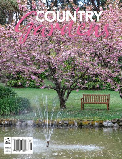 Australian Country Gardens #1 magazine cover
