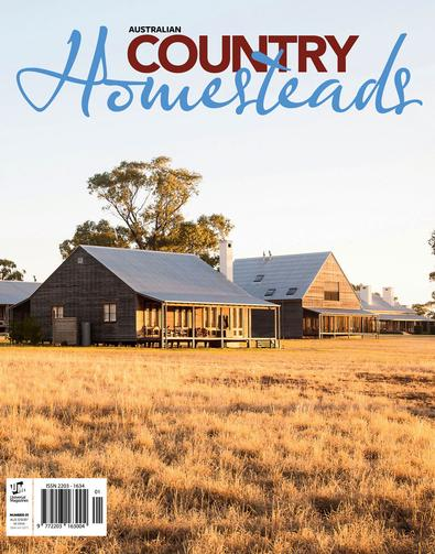 Australian Country Homesteads #1 magazine cover
