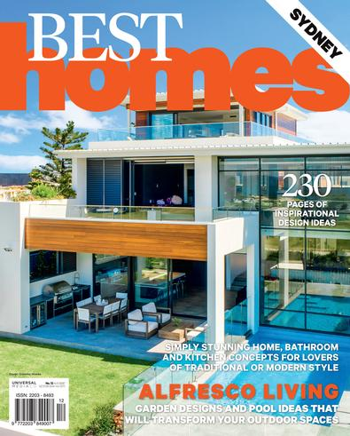 Best Homes #12 magazine cover