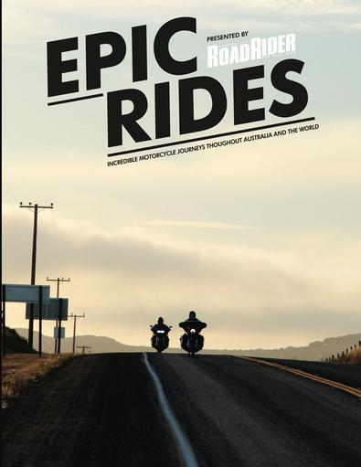 Epic Rides #1 magazine cover