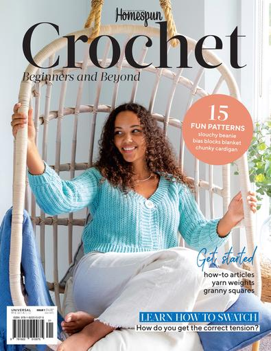 Homespun Crochet magazine cover