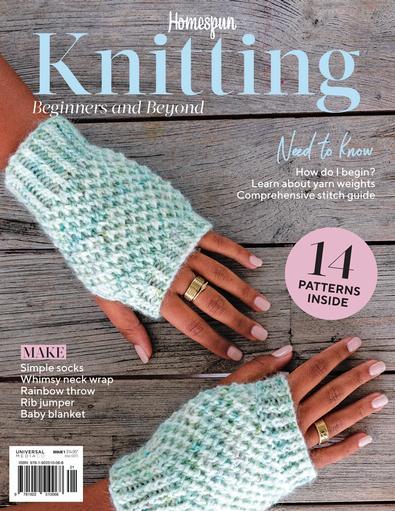 Homespun Knitting magazine cover