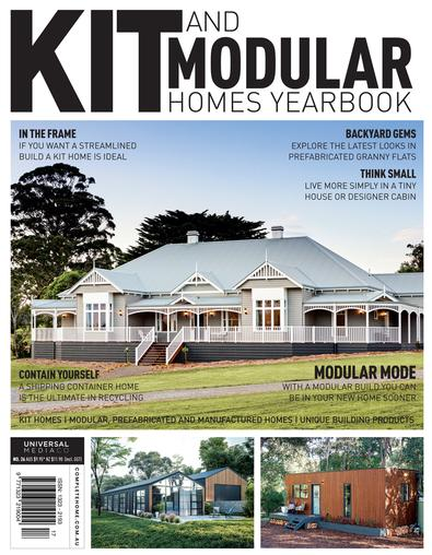 Kit & Manufactured Homes Yearbook #26 magazine cover