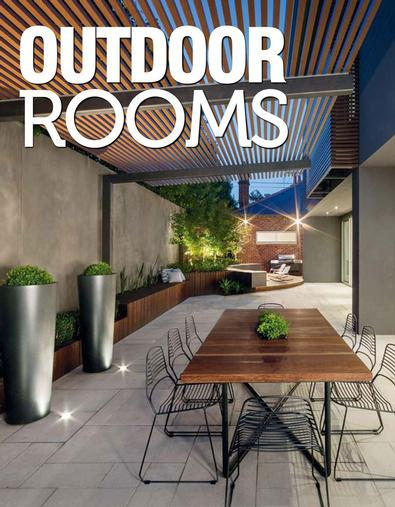 Outdoor Rooms #1 magazine cover