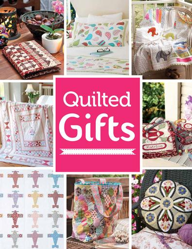 Quilted Gifts #1 magazine cover