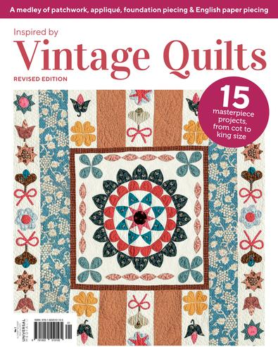 Vintage Quilts #1 magazine cover