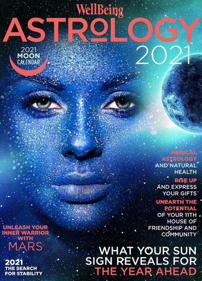 WellBeing Astrology #17 magazine cover