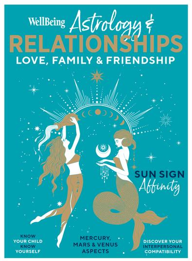 WellBeing Astrology Relationships #1 magazine cover