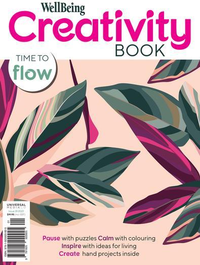 WellBeing Creativity Book #1 magazine cover