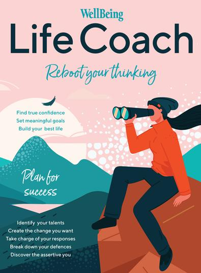 WellBeing Life Coach #1 magazine cover