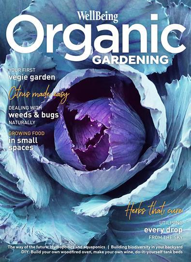 WellBeing Organic Gardening #1 magazine cover