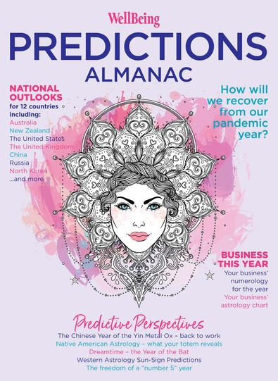 WellBeing Predictions Almanac #7 magazine cover