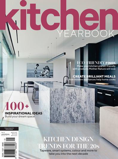 Kitchen Yearbook #25 (2021) magazine cover