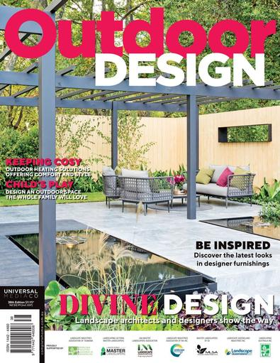 Outdoor Design magazine cover