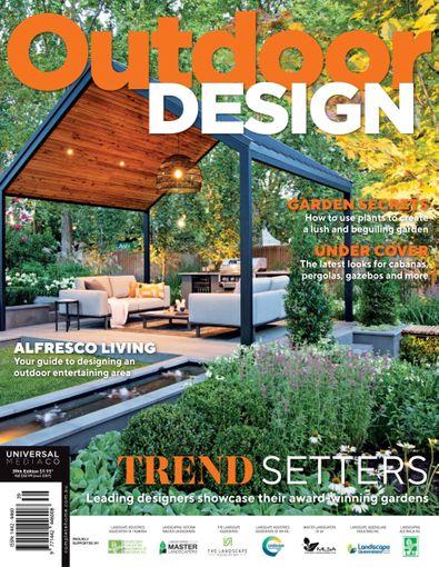 Outdoor Design magazine cover