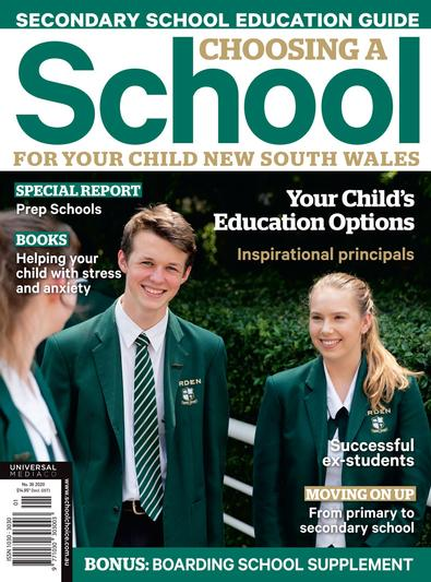 Choosing A School For Your Child NSW #36 magazine cover