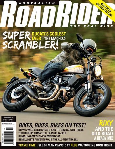 Road Rider magazine cover