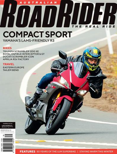 Road Rider magazine cover