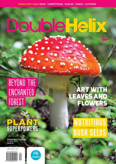 Double Helix magazine cover