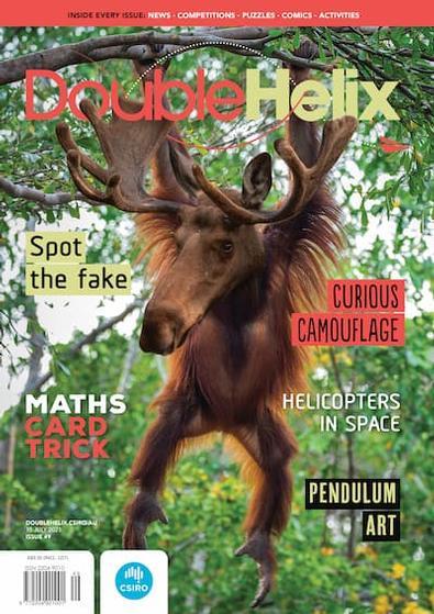 Double Helix magazine cover