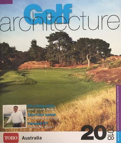 Golf Architecture magazine cover