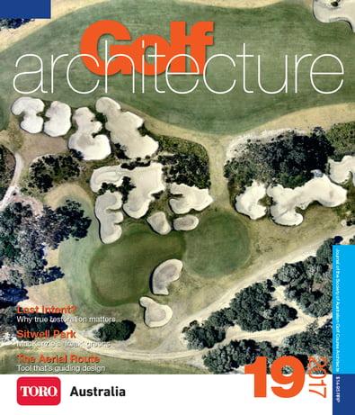 Golf Architecture magazine cover