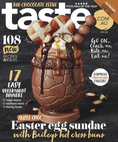 Taste.com.au magazine cover