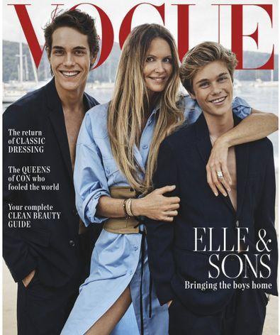Vogue Australia magazine cover
