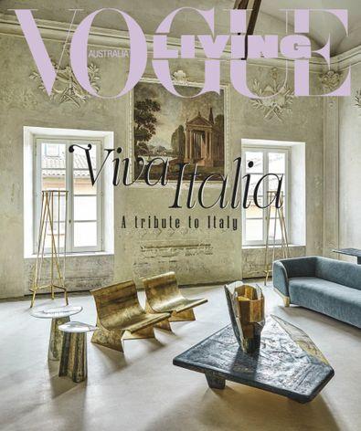 Vogue Living magazine cover