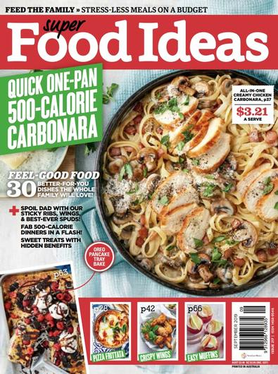 Super Food Ideas magazine cover