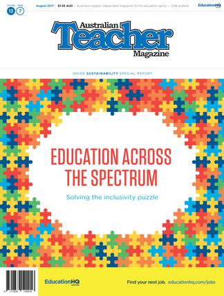 Australian Teacher Magazine cover