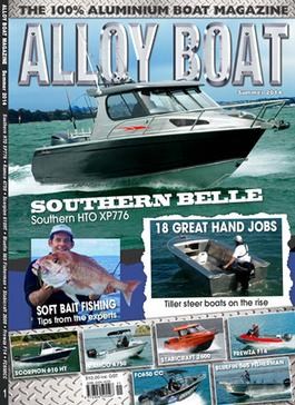 Alloy Boat Magazine cover
