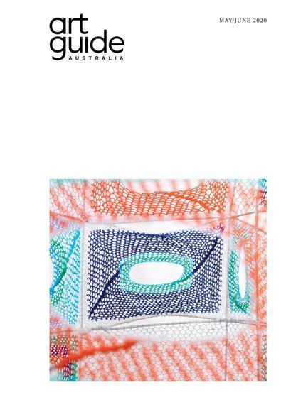 Art Guide Australia magazine cover