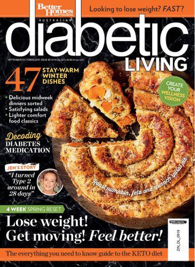 Diabetic Living magazine cover