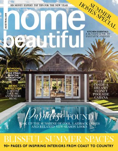 Australian home beautiful magazine cover