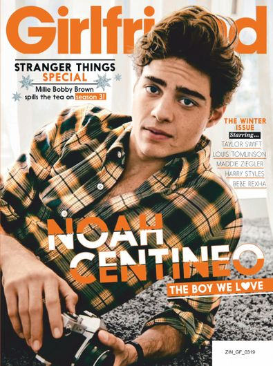 Girlfriend magazine cover