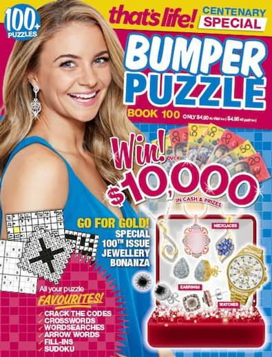 That's Life Bumper Puzzle magazine cover