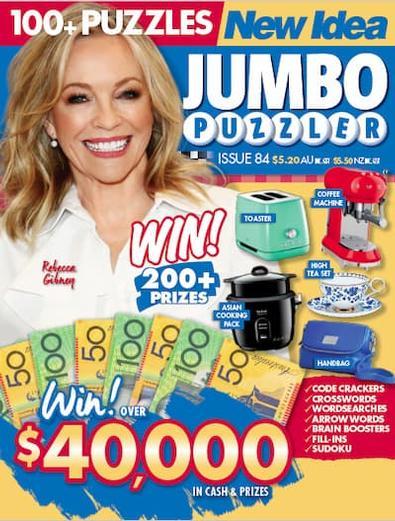 New Idea Jumbo Puzzler magazine cover