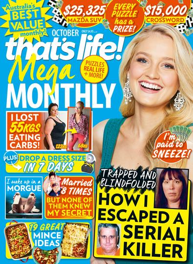 That's Life Mega Monthly magazine cover