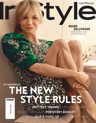 InStyle magazine cover
