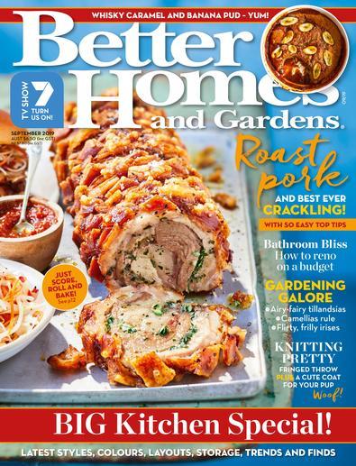 Better Homes & Gardens magazine cover