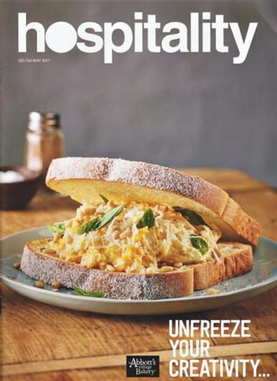 Hospitality magazine cover