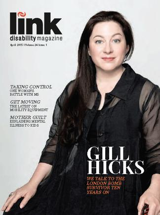 Link Disability Magazine cover