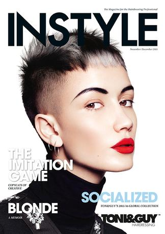 INSTYLE - for the Hairdressing Professional magazine cover
