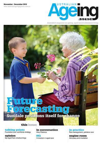 Australian Ageing Agenda magazine cover