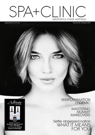 Spa + Clinic magazine cover